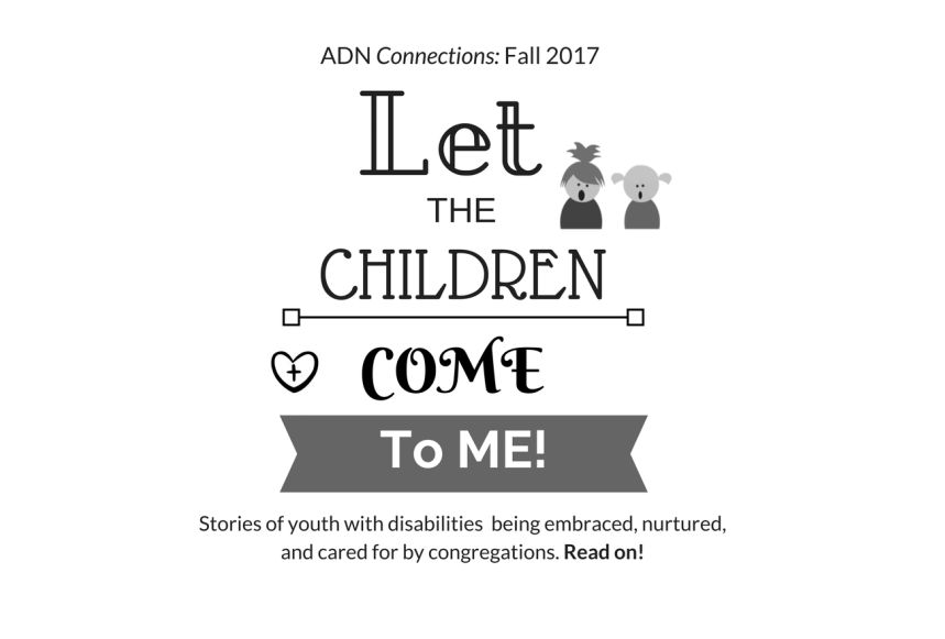 Logo for connections of the words Let the Children come to me