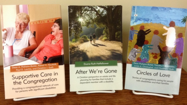 3 books: Circles of Love, Supportive Care in the Congregation, After We're Gone